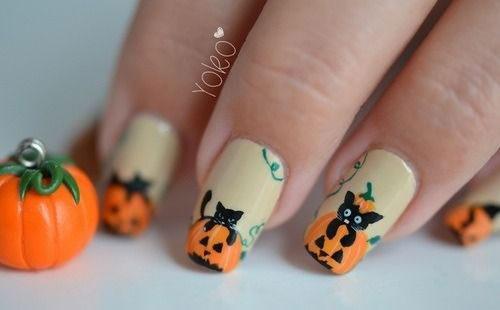 15-Halloween-Cat-Nails-Art-Designs-Ideas-2017-15