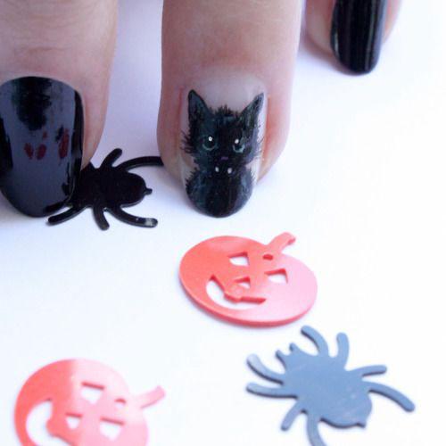 15-Halloween-Cat-Nails-Art-Designs-Ideas-2017-16