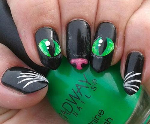 15-Halloween-Cat-Nails-Art-Designs-Ideas-2017-4