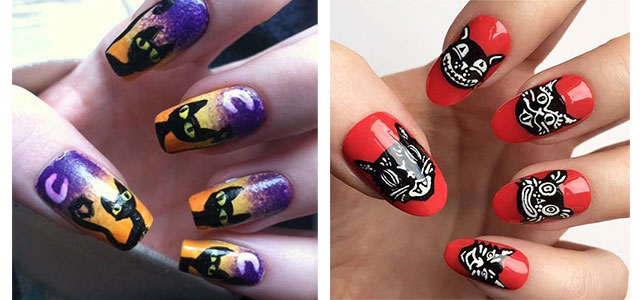 15-Halloween-Cat-Nails-Art-Designs-Ideas-2017-f