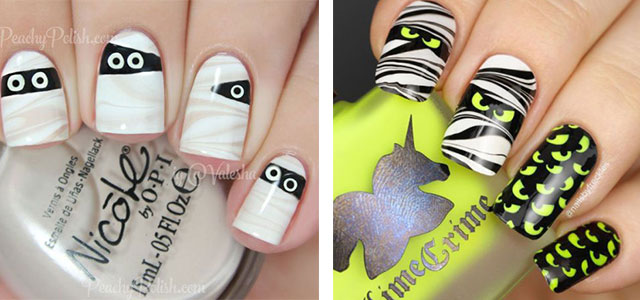 15-Halloween-Mummy-Nails-Art-Designs-Ideas-2017-f