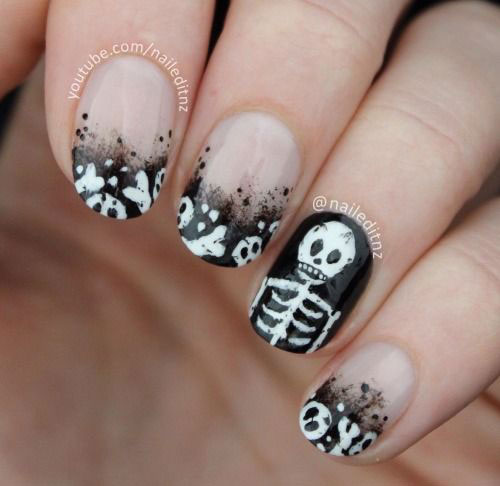 15-Halloween-Skull-Acrylic-Nails-Art-Designs-Ideas-2017-11