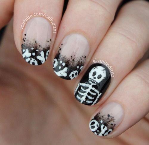 15-Halloween-Skull-Acrylic-Nails-Art-Designs-Ideas-2017-11