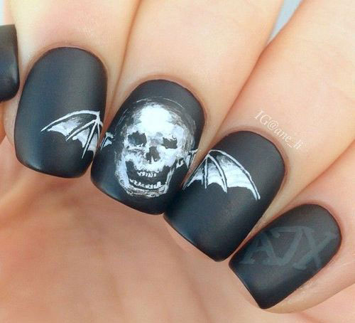 15-Halloween-Skull-Acrylic-Nails-Art-Designs-Ideas-2017-12