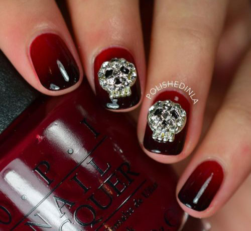 15-Halloween-Skull-Acrylic-Nails-Art-Designs-Ideas-2017-5