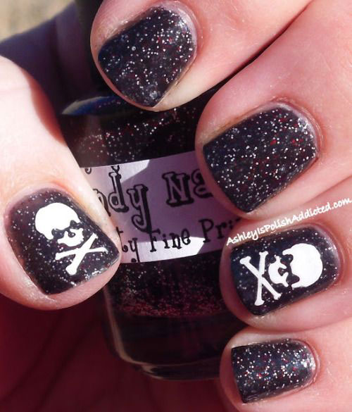 15-Halloween-Skull-Acrylic-Nails-Art-Designs-Ideas-2017-6