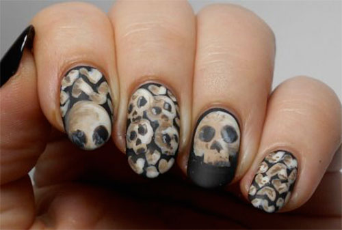 15-Halloween-Skull-Acrylic-Nails-Art-Designs-Ideas-2017-7