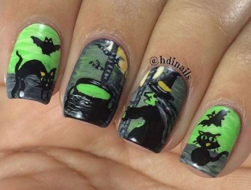 15-Halloween-Witch-Nails-Art-Designs-Ideas-2017-12
