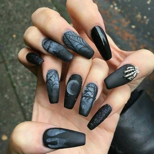 15-Halloween-Witch-Nails-Art-Designs-Ideas-2017-4