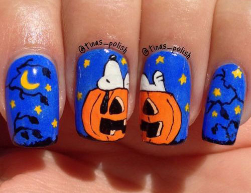 18-Easy-Halloween-Pumpkin-Nails-Art-Designs-Ideas-2017-14