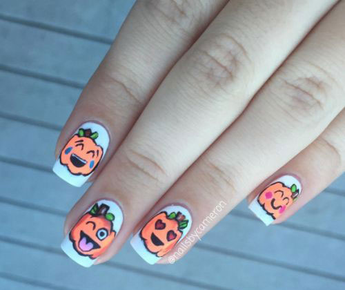 18-Easy-Halloween-Pumpkin-Nails-Art-Designs-Ideas-2017-16