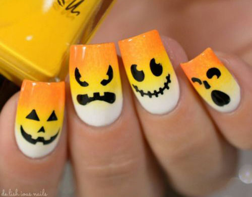 18-Easy-Halloween-Pumpkin-Nails-Art-Designs-Ideas-2017-18