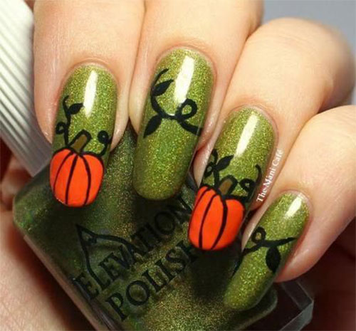 18-Easy-Halloween-Pumpkin-Nails-Art-Designs-Ideas-2017-2