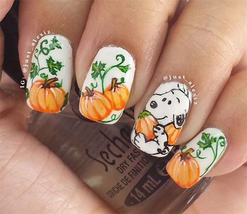 18-Easy-Halloween-Pumpkin-Nails-Art-Designs-Ideas-2017-3