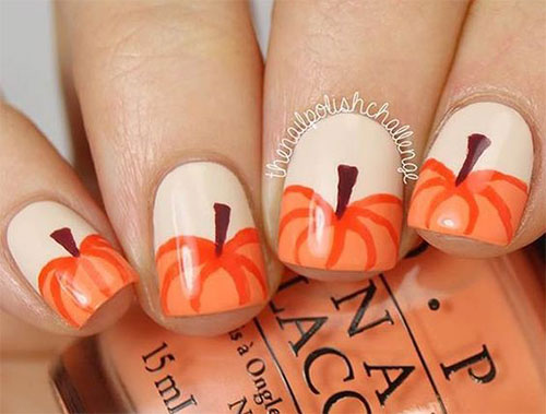 18-Easy-Halloween-Pumpkin-Nails-Art-Designs-Ideas-2017-8