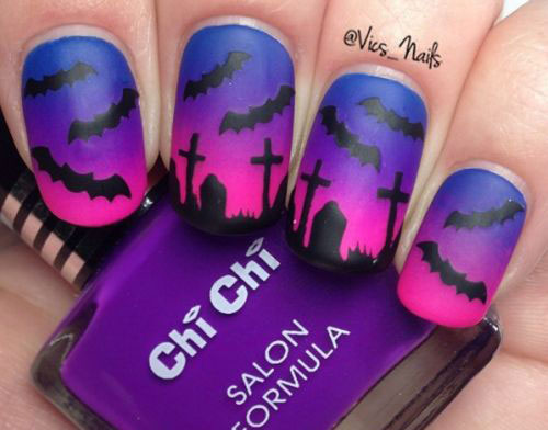 18-Halloween-Bat-Nails-Art-Designs-Ideas-2017-1