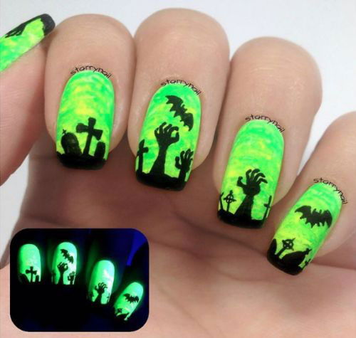 18-Halloween-Bat-Nails-Art-Designs-Ideas-2017-12