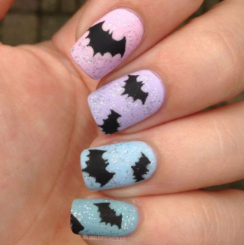 18-Halloween-Bat-Nails-Art-Designs-Ideas-2017-17