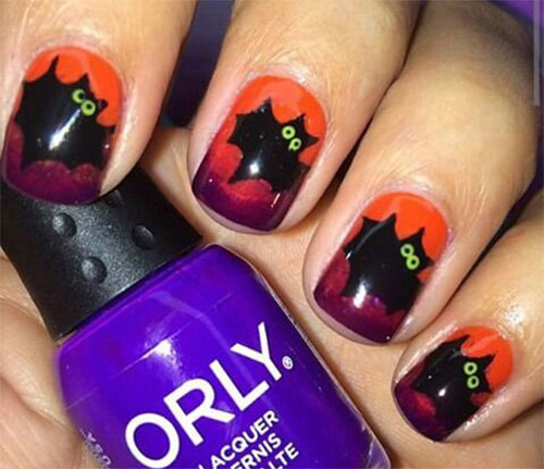 18-Halloween-Bat-Nails-Art-Designs-Ideas-2017-4