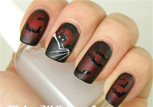 18-Halloween-Bat-Nails-Art-Designs-Ideas-2017-5