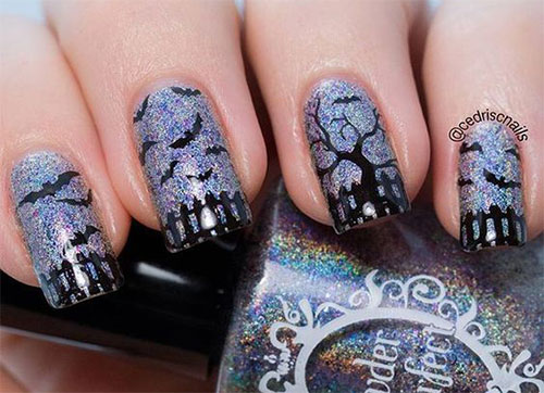 18-Halloween-Bat-Nails-Art-Designs-Ideas-2017-7