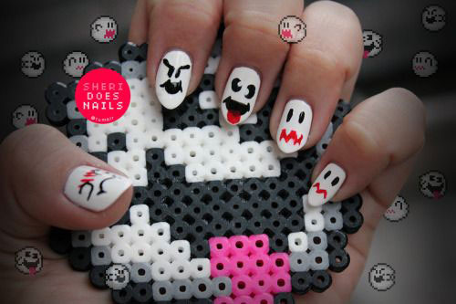18-Halloween-Ghost-Nails-Art-Designs-Ideas-2017-9