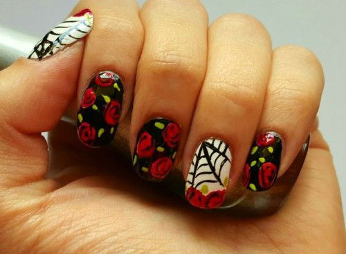 18 halloween spider nail art designs ideas 2017 spider web 18 halloween spider nail art designs ideas 2017 prinsesfo Image collections