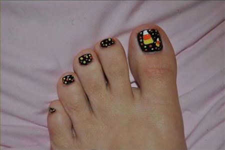 15-Halloween-Toe-Nails-Art-Designs-Ideas-2017- - 15+ Halloween Toe Nails Art Designs & Ideas 2017 Fabulous Nail