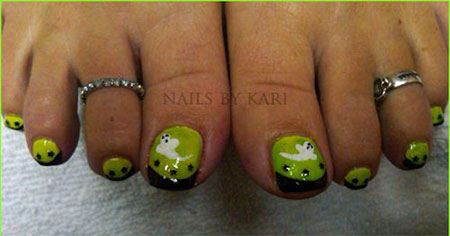15 halloween toe nails art designs ideas 2017 fabulous nail 15 halloween toe nails art designs ideas 2017 prinsesfo Image collections