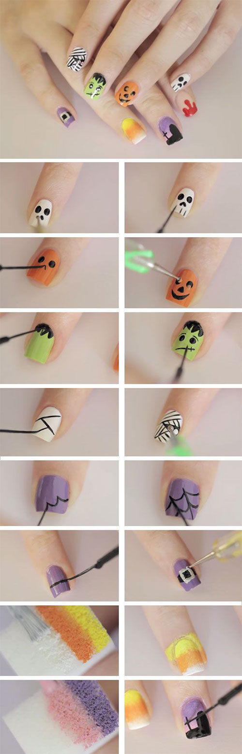 18-Easy-Step-By-Step-Halloween-Nails-Art-Tutorials-For-Beginners-2017-10