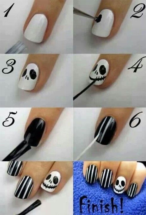18-Easy-Step-By-Step-Halloween-Nails-Art-Tutorials-For-Beginners-2017-12
