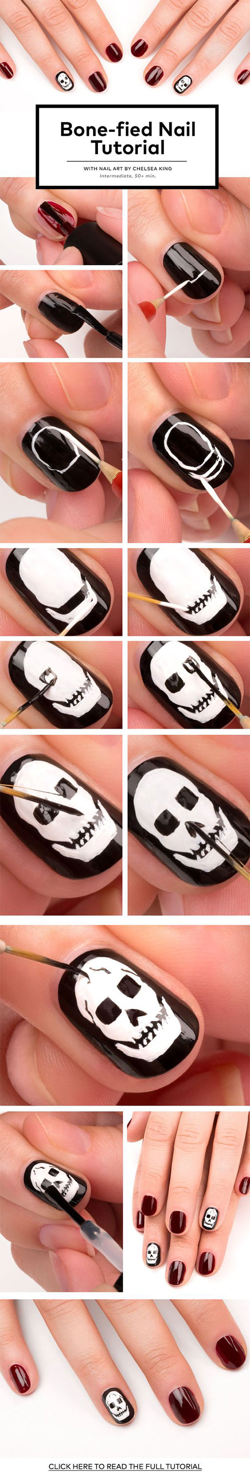 18-Easy-Step-By-Step-Halloween-Nails-Art-Tutorials-For-Beginners-2017-14