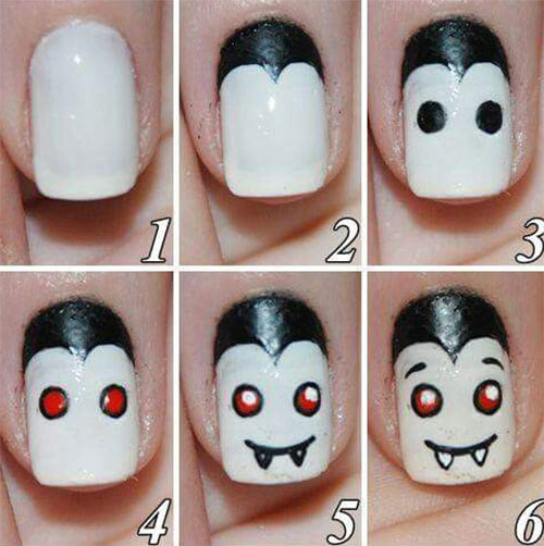 18-Easy-Step-By-Step-Halloween-Nails-Art-Tutorials-For-Beginners-2017-5
