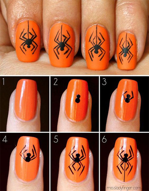 18-Easy-Step-By-Step-Halloween-Nails-Art-Tutorials-For-Beginners-2017-7