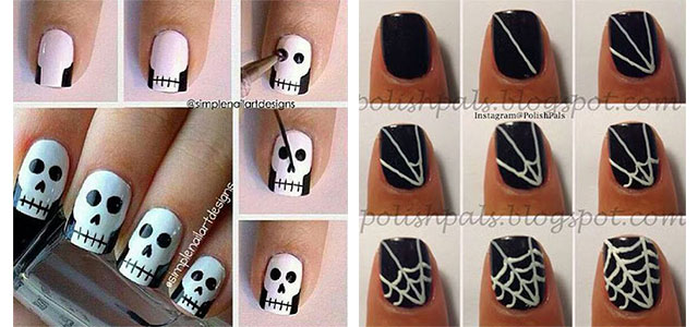 18-Easy-Step-By-Step-Halloween-Nails-Art-Tutorials-For-Beginners-2017-f