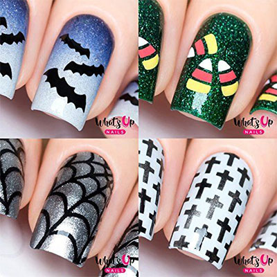20-Halloween-Nails-Art-Stickers-Decals-2017-15