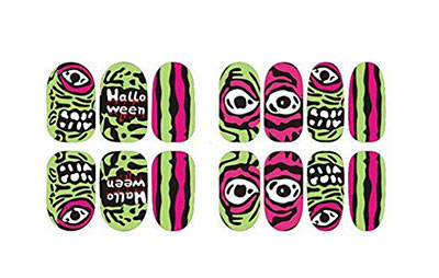 20-Halloween-Nails-Art-Stickers-Decals-2017-16