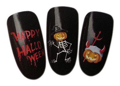 20-Halloween-Nails-Art-Stickers-Decals-2017-19