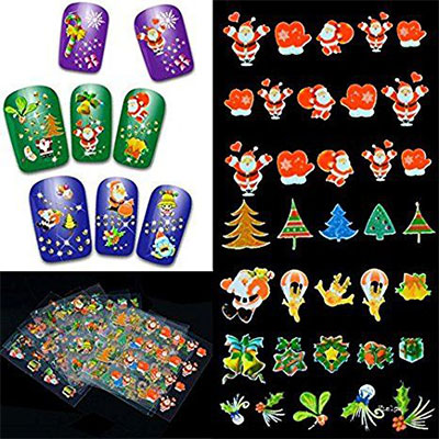 20-Halloween-Nails-Art-Stickers-Decals-2017-5