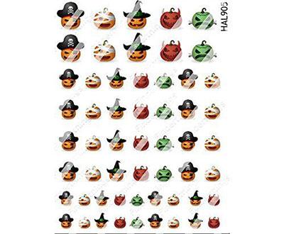 20-Halloween-Nails-Art-Stickers-Decals-2017-7