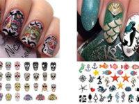 20-Halloween-Nails-Art-Stickers-Decals-2017-f