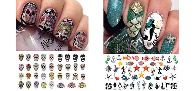 20-Halloween-Nails-Art-Stickers-Decals-2017-f