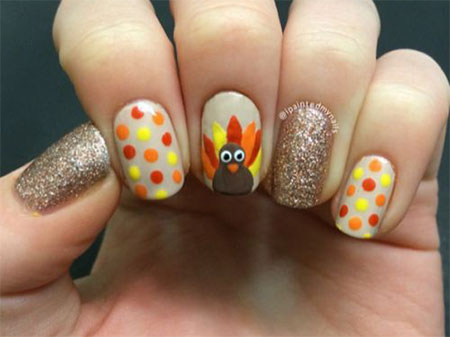 12-Turkey-Nail-Art-Designs-Ideas-2017-Thanksgiving-Nails-10