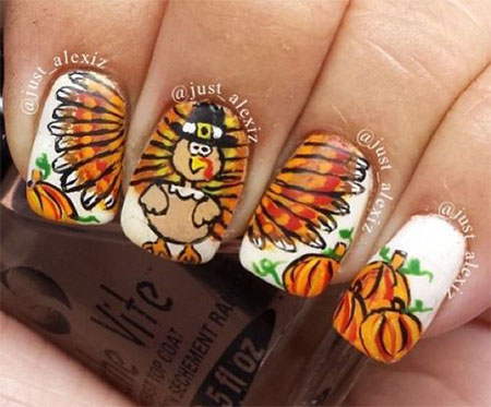 12-Turkey-Nail-Art-Designs-Ideas-2017-Thanksgiving-Nails-3