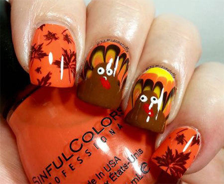 12-Turkey-Nail-Art-Designs-Ideas-2017-Thanksgiving-Nails-5