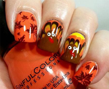 12-Turkey-Nail-Art-Designs-Ideas-2017-Thanksgiving-Nails-5
