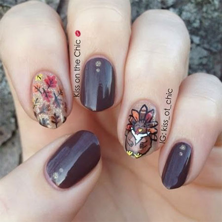 12-Turkey-Nail-Art-Designs-Ideas-2017-Thanksgiving-Nails-9