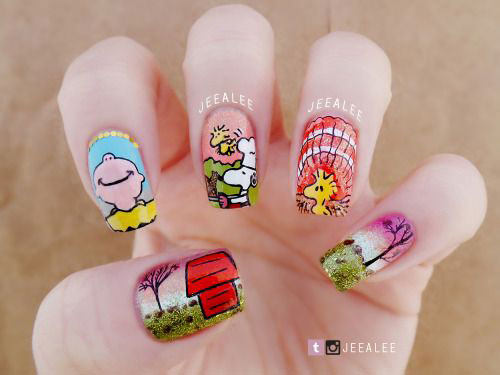 20-Happy-Thanksgiving-Nails-Art-Designs-Ideas-2017-16