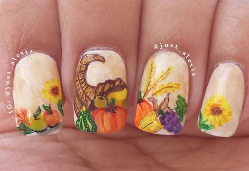 20-Happy-Thanksgiving-Nails-Art-Designs-Ideas-2017-19