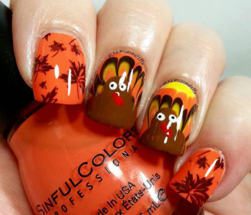 20-Happy-Thanksgiving-Nails-Art-Designs-Ideas-2017-4